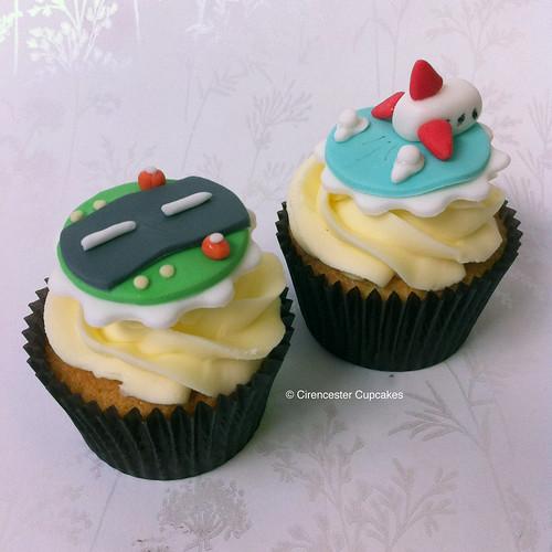 Cirencester Cupcakes - Aeroplane Cupcake Duo
