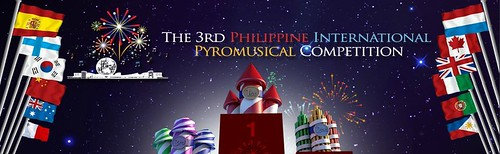 2012 Philippine International Pyromusical Competition Schedule