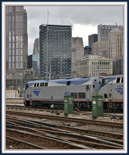 Amtrak Chicago: Arrival by Loco Steve