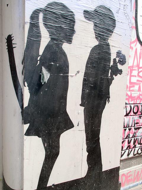 Girls vs. Boys - Stencil