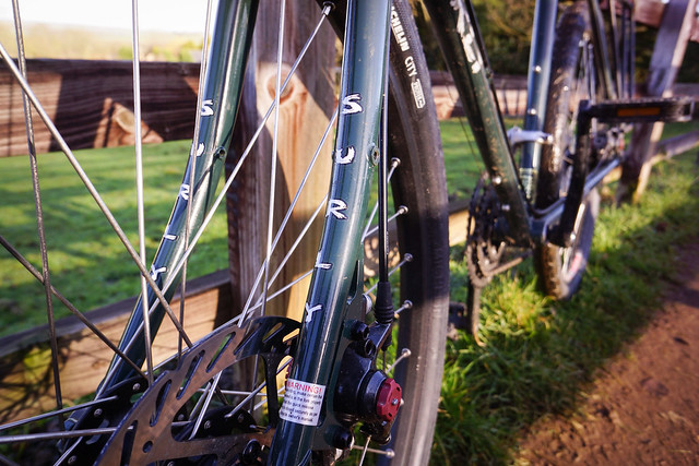 Surly Disc Trucker: Front Fork