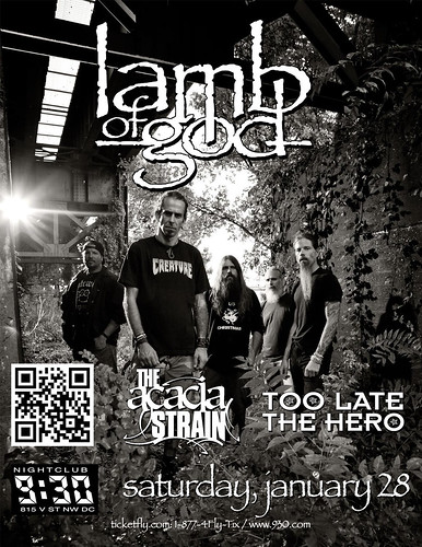 Lamb Of God at the 9:30 Club