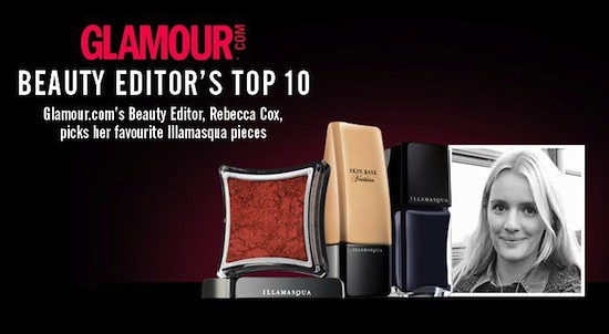 Illamasqua Glamour.com Beauty Editor's Top 10 Products