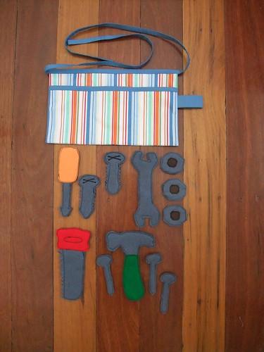 Felt Tools & Tool Belt 1