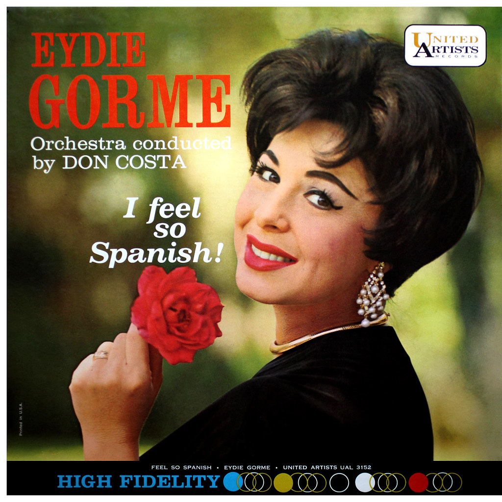 Eydie Gorme - I Feel So Spanish