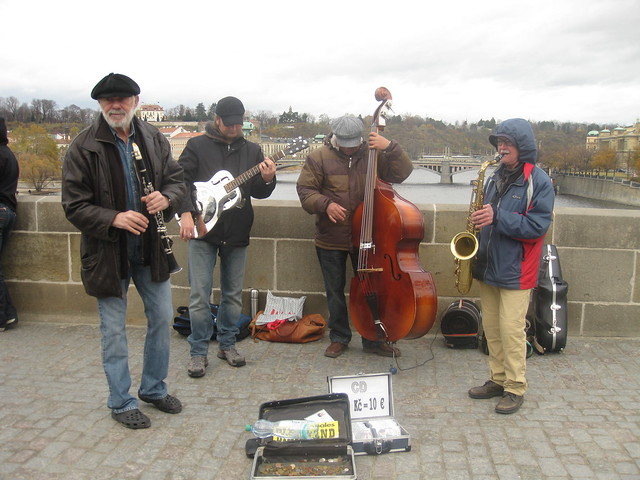 Charles Bridge Jazz band