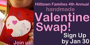 Hilltown Families 4th Annual Valentine Swap