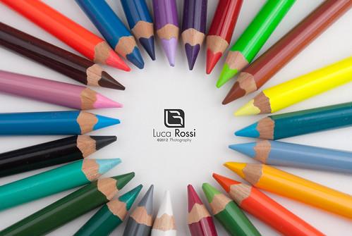 pencils stock