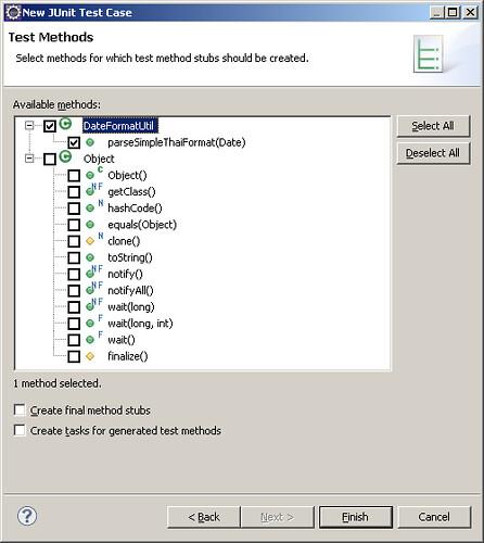 2 - select method