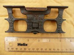 Atkins jointer/ raker guage front