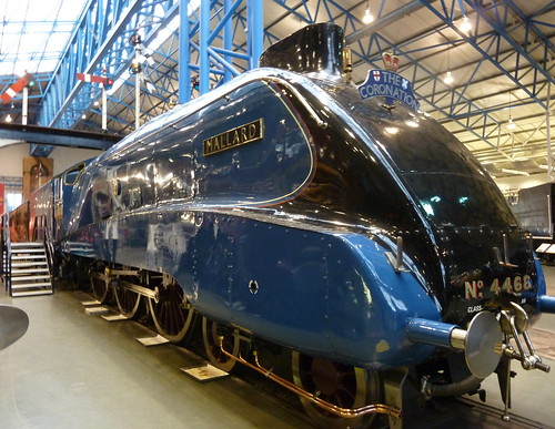 Picture of Sir nigel Gresley's Mallard locomotive