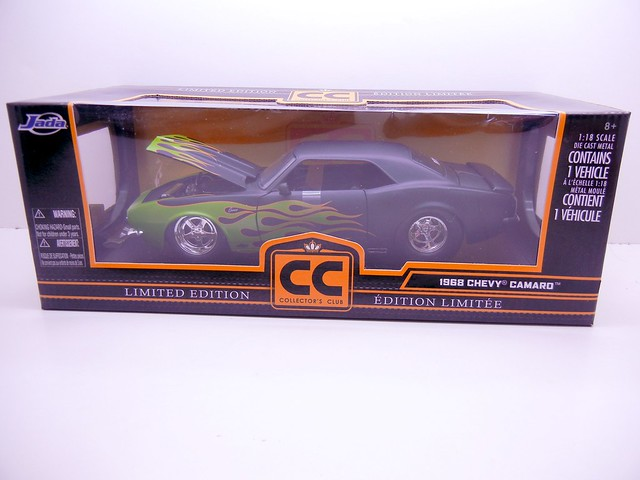 JADA TOYS LIMITED EDITION COLLECTORS CLUB 1968 CHEVY CAMARO (1)