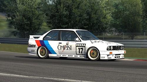 BMW E30 M3 DTM - Anette Meeuvissen - 1991 - Linder - Assetto Corsa