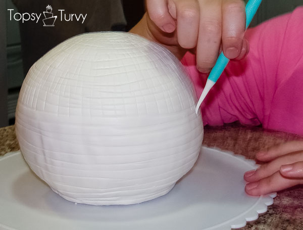 Disco Ball Cake Tutorial Ashlee Marie Real Fun With
