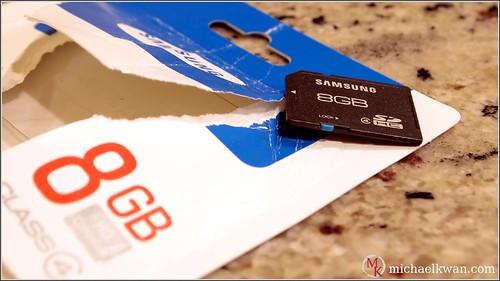 Samsung Class 4 8GB SDHC Memory Card