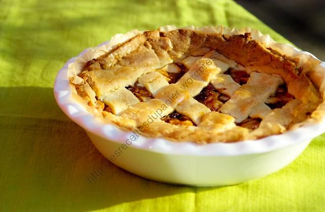 Tarte aux pommes à l'hollandaise / Dutch Apple Pie