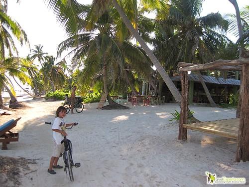 Biking in Belize