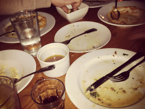 CARNAGE... after Chef Ludo's Un Petit Porc Dinner