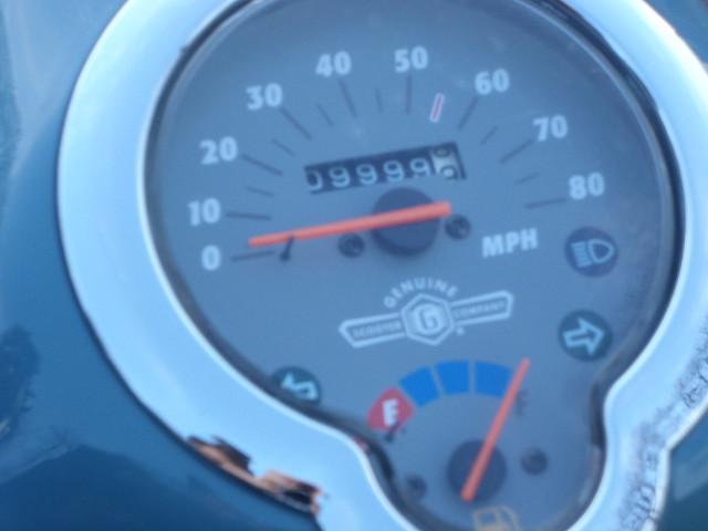 9,999.9 miles on Franz Biberkopf, the Buddy scooter