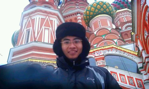 St. Basil cathedral, Moscow by Firdaus Azinun
