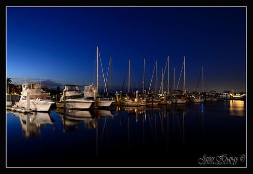 Reflections after Sunset Bradenton-Florida