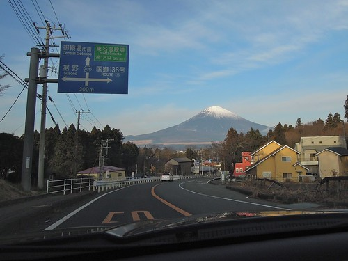 Mt. Fuji on New Year's Day 2012