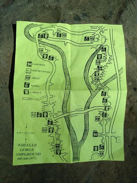 Wheeler Gorge Campground Map Explore Clint Chilcott S