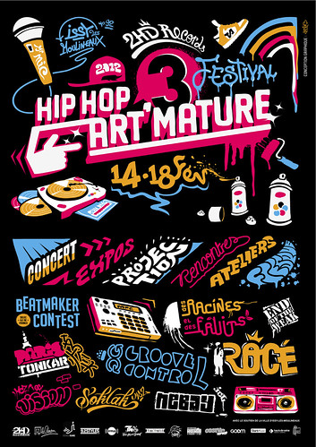 Hip Hop Art Mature by Pegasus & Co
