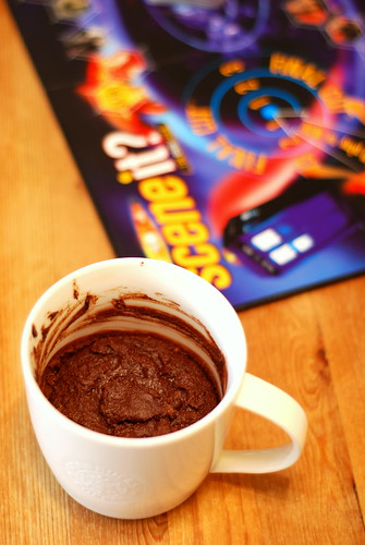 Happy Thing: Mug Cake & Scene It Doctor Who