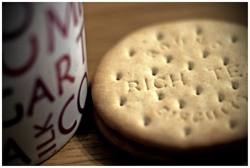 22/366: Tea & biscuits by MeltedMoments