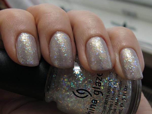 Glitter Sandwich Nails