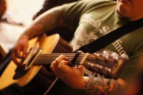 Austin Lucas, House Show, Durham NC, 01/28/12