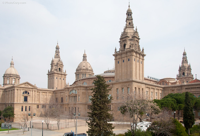 MNAC, art museum of Catalunya, Spain