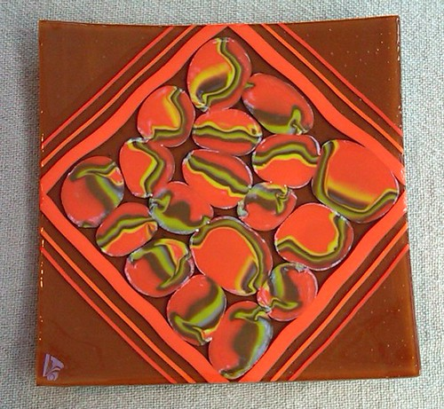 Orange Puddles by marycallegretti