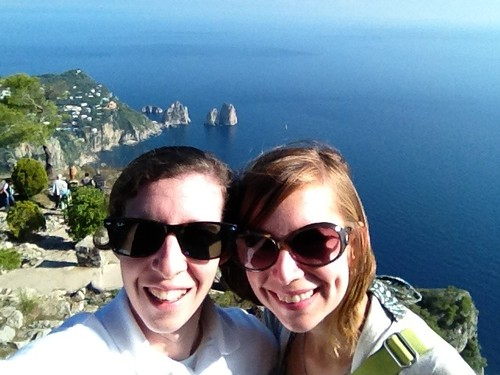 Atop Mt. Solaro in Capri