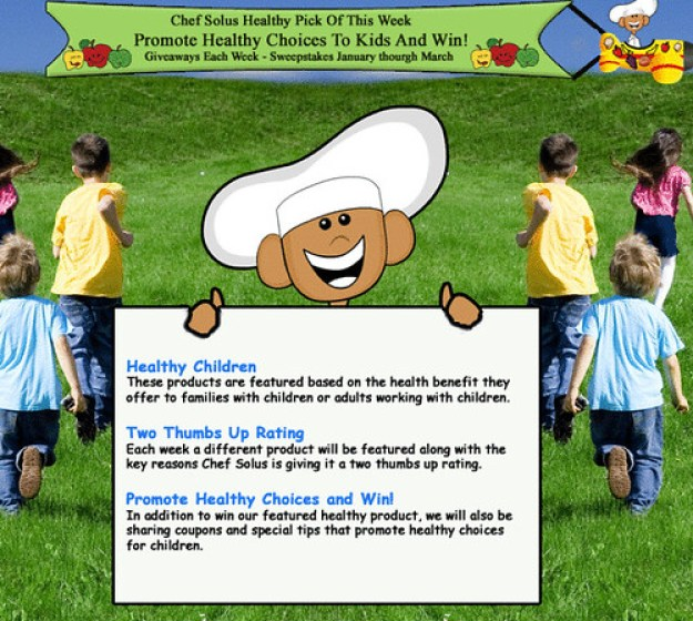 Free advertising sites, NEW healthy giveaways chef-solus-weekly-healthy-pi…