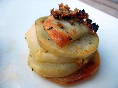 Roasted Potato Stack