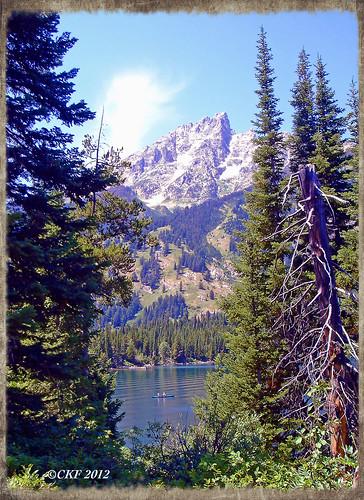 Tetons - Canoeing