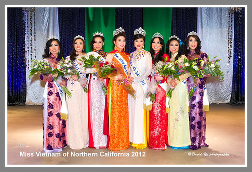 Miss Vietnam of Northern California 2012 by davidyuweb