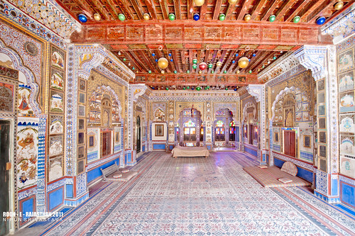 The mehrangarh fort.
