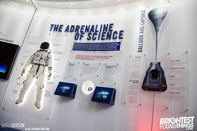 Red Bull Stratos Grand Opening at National Air and Space Museum