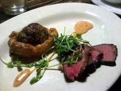 sirloin & pithivier from tien ho at baton supper series