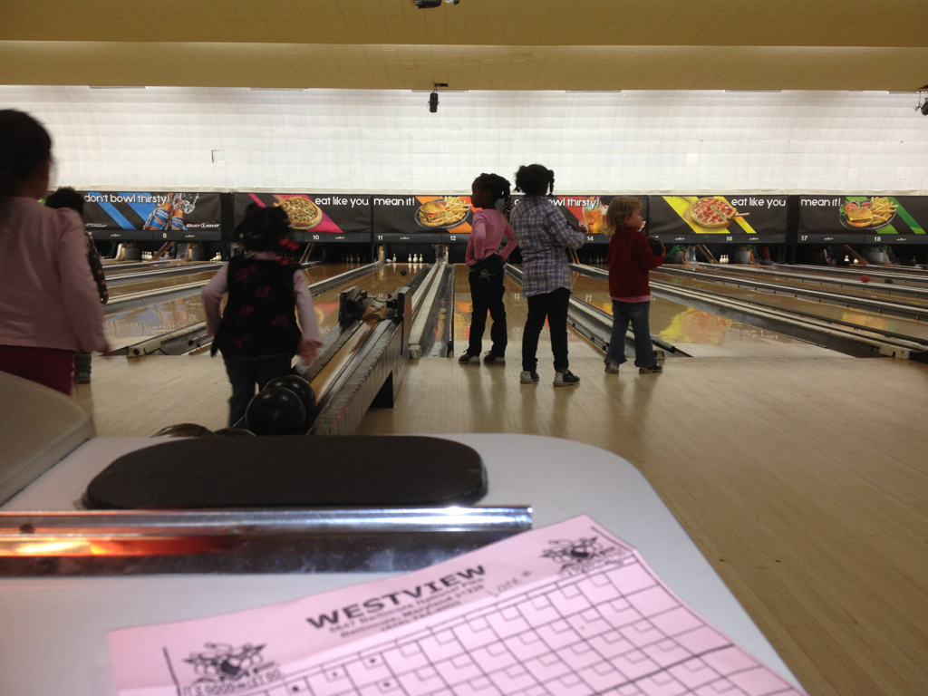friends at the lanes