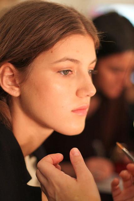 Vera Wang Spring 2012 Backstage-5