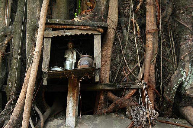 A nat shrine, Yangon