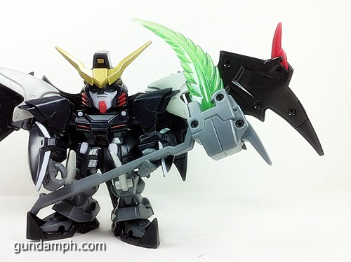 SD Gundam Online Deathscythe Hell Custom Toy Figure Unboxing Review (37)