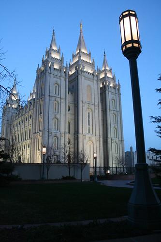 Salt Lake Temple - 2010