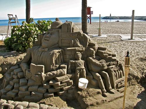 Sand art #1