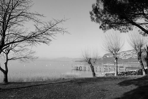 pier, lake, san vigilio