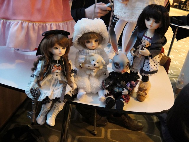 Lareine, Delilah, Blue Rabbit and Pino